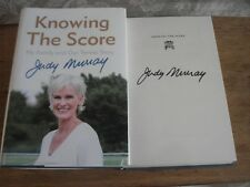 KNOWING THE SCORE  BY JUDY MURRAY SIGNED  COPY,HARDBACK 2017