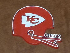 KANSAS CITY CHIEFS Vintage Old NFL RUBBER Football FRIDGE MAGNET Standings Board