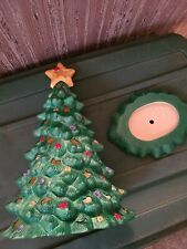 New ListingHand Painted Ceramic Christmas Tree