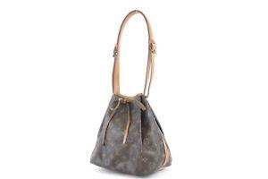 LOUIS VUITTON Petit Noe Monogram Shoulder Bag M40818