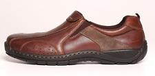 Airflex Men's Brown Leather Upper Slip On Shoes 4417 Size 11 UK