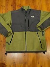 The Northface Green Gray Full Zip Large Mens Jacket