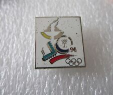 1994 LILLEHAMMER Olympics IOC pin badge