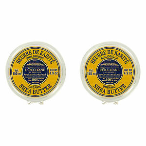 2 PCS L'Occitane Pure Shea Butter 4.9oz, 150ml