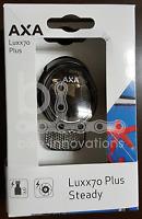 AXA LUXX70 Plus Steady LED Fahrradleuchte -Licht Seitendynamo 70Lux 939856