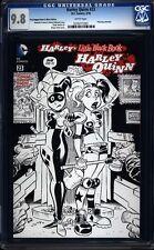 Harley Quinn 23 CGC 9.8 WP B&W Sketch Variant Cover Modern DC (2014) IGKC L@@K