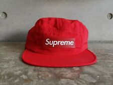 Supreme Raised Patch Box Logo Camp Cap - Red S/M