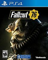 Fallout 76: Wastelanders For PlayStation 4 PS4 Game Only PS5 6E