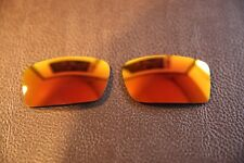 PolarLenz Polarized Fire Red Iridium Replacement Lens for-Oakley Gascan