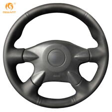 Black Leather Steering Cover for Nissan Almera N16 Pathfinder Primera Paladin
