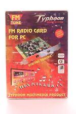 RARE Radio FM carte PC Win 3.1X Windows 95 ISA Fente Par Typhoon produit multimédia
