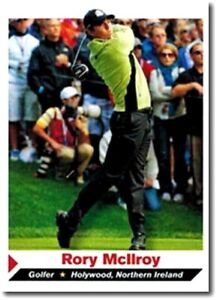 """RORY McILROY 2013 SPORTS ILLUSTRATED """"1ST PRINTED"""" ROOKIE CARD #214! IRELAND!"""