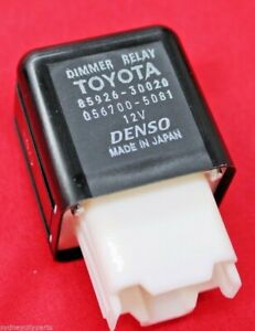 TOYOTA HEADLAMP DIMMER RELAY 8592630020 NEW GENUINE EXPRESS POST