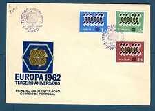 PORTUGAL - PORTOGALLO - 1962 - FDC - Europa. E2715