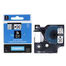 New listing 10 Pack A45013 For Dymo D1 45013 210D LabelManager Black on White Label Tape