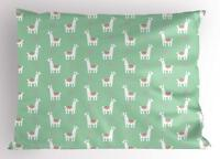 Llama Pillow Sham Decorative Pillowcase 3 Sizes for Bedroom Decor