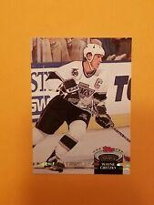 1992-93 Topps Stadium Club Members Choice #256 Wayne Gretzky