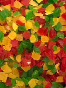 Tutti Frutti, Multi Bright Coloured Sweet Fruit Candy, Fruit Dessert topping
