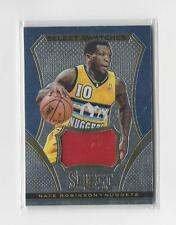 2013-14 Select Swatches #74 Nate Robinson JERSEY Nuggets