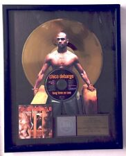 Chico DeBarge RIAA Gold Record Award  LONG TIME NO SEE 1997 to Etterlene DeBarge