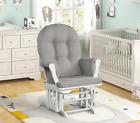 Angel Line White Padded Armrest Cushion Rocking Chair Glider Nursery Furniture