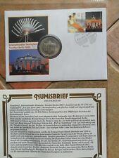 Numisbrief 10 DM 1991 Turnfest Berlin 2005