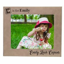 Personalized 4x6 Kids Picture Frame for Boys or Girls - Custom Children's Gift