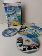 Microsoft Flight Simulator X PC Computer Game w/ Slipcover Product Key & Manuals