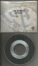 Bebe & Cece THE WINANS A Friend w/ RARE EDIT PROMO DJ Cd Single 1990 USA MINT