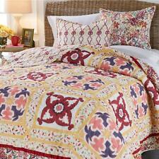 Madcap Cottage Maze Print 3-piece Cotton Quilt Set King NEW PICK COLOR