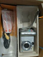 Canon PowerShot A95 5.0MP Digital Camera - Silver Camera and AV cord only.