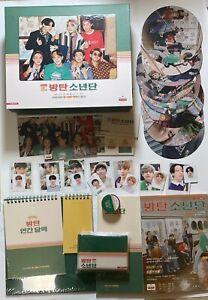 Split BTS 2020 SEASONS GREETING Official Desk Calendar Diary DVD Photo-card ID