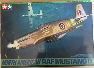 1/48 Tamiya RAF Mustang III model kit
