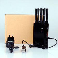 JAMMER 8 BANDE INHIBITOR GSM DCS 3G 4G GPS LOJACK WIFI 40 METER