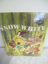 SNOW WHITE BOOK RECORD SET (SEALED) NEW EDUCATIONAL READING SERVICE