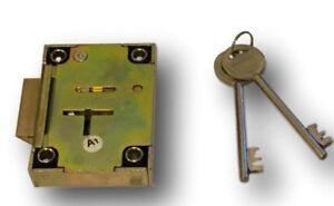 Safe Slam Lock - MOT safe Lock (Key Retaining) c/w 2 keys  ** Free Postage **