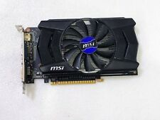 MSI NVIDIA GTX750 Ti 2GB DDR5 PCI-E Graphic Card N750Ti-2GD5/OC VGA DVI HDMI
