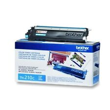 Genuine Brother TN210C Cyan Toner Cartridge 1400 Page Yield for HL-3040CN