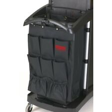 Rubbermaid 8 Pocket Canvas Fabric Service Trolley Organiser - Free P&P