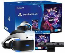 @=NEW=@ Sony PSVR PlayStation VR V2 ++ PS4 Camera V2 ++ PS5 Adaptor ++ VR Worlds
