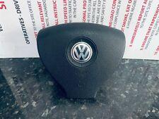 VW TOURAN 1T MK1 2003-2010 DRIVERS STEERING WHEEL SRS AIRBAG AIR BAG 5N0880201