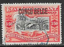 Belgian Congo stamps 1909 OBP 37L  CANC  VF