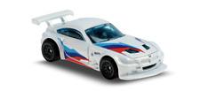 1:64 Hot Wheels White BMW Z4 M Motorsport Kid Diecast Model Toy Car Nightburnerz