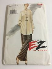 Vogue 9056 sewing pattern womens size 18-22 tunic and pants New