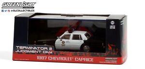 Greenlight 1987 Chevrolet Caprice Terminator 2 - 1:43 - #86582 Hollywood  OVP