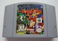 ✅ *GOOD* Banjo-Kazooie Nintendo 64 N64 Video Game Cart Retro Kids Super Rare ✅