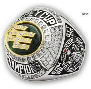 2015 Edmonton Eskimos The 93rd Grey Cup Championship Ring //