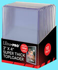 Внешний вид -  50 Ultra Pro 180pt TOPLOADERS 3x4 Five Packs of Ten Top Loader Super Thick NEW