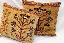 BEAUTIFY YOUR HOME WITH Pair of Handmade Pillow made out of HANMDADE WOOL rug