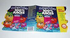 1976 Juicy Juice Drink Can Label kids food